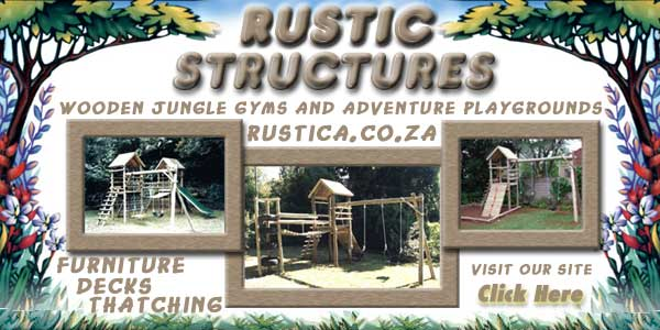 have children, there are some amazing outdoor play houses, jungle gyms